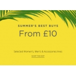 House of Fraser: selected womens, mens and accessories lines from £10