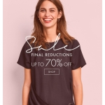 Hush: Sale up to 70% off ladies fashion and accessories