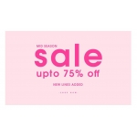 Ikrush: Mid Season Sale up to 75% off clothing & fashion