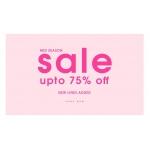 Ikrush: Mid Season Sale up to 75% off clothing & fashion