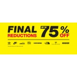 JD Sport Fashion: Final Sale up to 75% off sport fashion, clothing and accessories