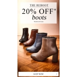 JD Williams: 20% off footwear