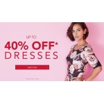 JD Williams: up to 40% off dresses