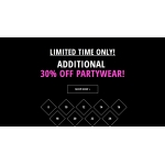 Just Last Season: 30% off partywear