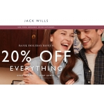 Jack Wills: 20% off everything