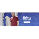 Jacamo: under £25 off shirts