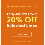 Jacamo: 20% off autumn selected lines