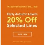 Jacamo: 20% off autumn selected lines