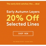 Jacamo: 20% off autumn men's selected lines