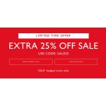 Jack Wills: extra 25% off sale