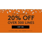 Jacamo: 20% off clothing, underwear, footwear and accessories