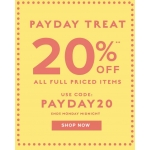 Jane Norman: 20% off all full priced items