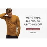 John Smedley Outlet: Sale up to 80% off menswear