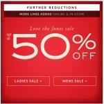 Jones Bootmaker: Sale up to 50% off shoes