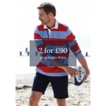 Joseph Turner: 2 rugby shirts for £90