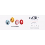 Joules: 25%, 5% off women's, men's and children's clothing and footwear