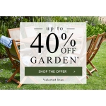 Julipa: Sale up to 40% off garden furniture, ornaments, lighting and plants
