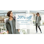 Julipa: 20% off brithis summer styles