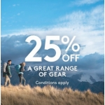 Kathmandu: 25% off great range of gear