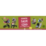 Kiddies Kingdom: up to £260 off Cosatto products