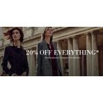 L.K.Bennett: 20% off designer shoes, clothes, bags & accessories