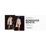 Lamoda: 10% off renegade boots