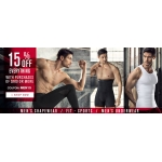 Leonisa: 15% off everything from mens shapewear, underwear and more
