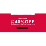 Leonisa: up to 40% off items that are already on sale