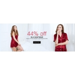 LilySilk: up to 44% off silk nightwear