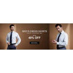 LilySilk: up to 40% off mens dress shirts