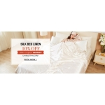 LilySilk: 10% off silk bed linen