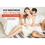 LilySilk: 20% off silk nightwear