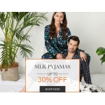 LilySilk: up to 30% off silk pyjamas