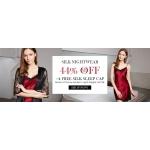 Lily Silk: up to 40% off silk nightwear