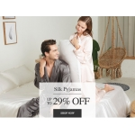 LilySilk: up to 29% off silk pyjamas
