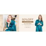 LilySilk: up to 50% off silk nightwear