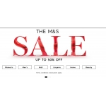 Marks and Spencer: up to 50% off clothing and accessories