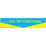 M&Co: extra 20% off everything