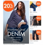 MandM Direct: 20% off denim