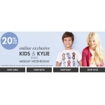 M&Co: 20% off kids & kylie