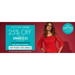 M&Co: 25% off womens, mens and kids clothing