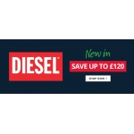 MandM Direct: Sale up to £120 off Diesel styles