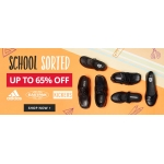 MandM Direct: Sale up to 65% off school sorted shoes from brands like adidas, eastpak, kickers