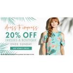 M&Co: 20% off dresses