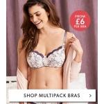 Marisota: multipack bras from £6 per bra