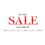 Marks & Spencer: Sale up to 50% off women's, men's and kids' fashion, lingerie, home and furniture