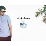 Menlook: Mid Season Sale up to 50% off