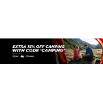 Millet Sports: extra 15% off camping