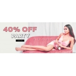 Miss Pap: 40% off party collection