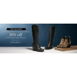 Moda in Pelle: 20% off women's shoes